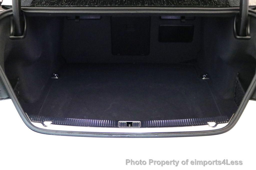 2015 Audi A8 L CERTIFIED A8L 4.0T V8 Quattro AWD Adaptive Cruise PANO NAV - 17365115 - 22
