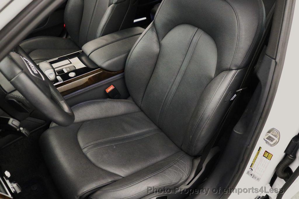 2015 Audi A8 L CERTIFIED A8L 4.0T V8 Quattro AWD Adaptive Cruise PANO NAV - 17365115 - 23