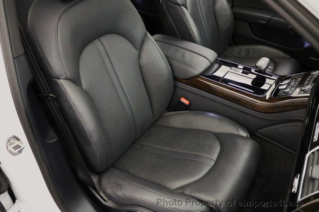 2015 Audi A8 L CERTIFIED A8L 4.0T V8 Quattro AWD Adaptive Cruise PANO NAV - 17365115 - 24