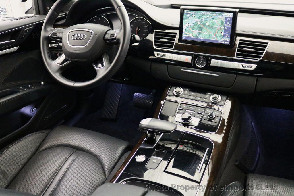 2015 Audi A8 L CERTIFIED A8L 4.0T V8 Quattro AWD Adaptive Cruise PANO NAV - 17365115 - 25