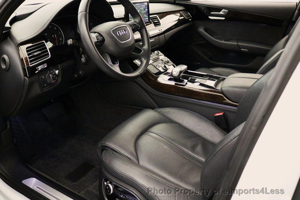 2015 Audi A8 L CERTIFIED A8L 4.0T V8 Quattro AWD Adaptive Cruise PANO NAV - 17365115 - 34