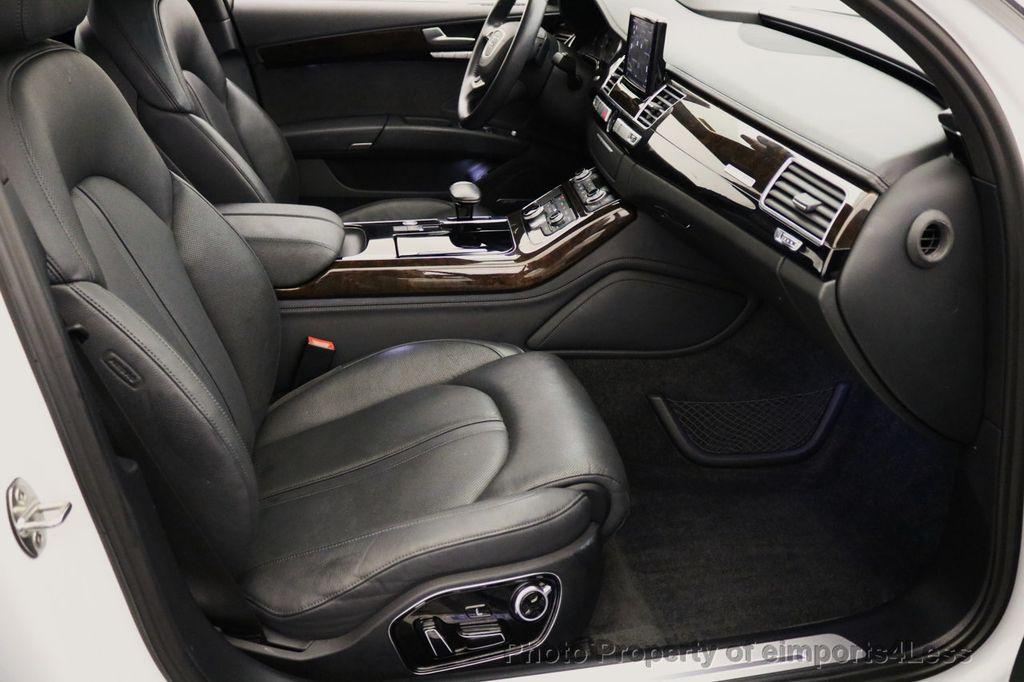 2015 Audi A8 L CERTIFIED A8L 4.0T V8 Quattro AWD Adaptive Cruise PANO NAV - 17365115 - 35