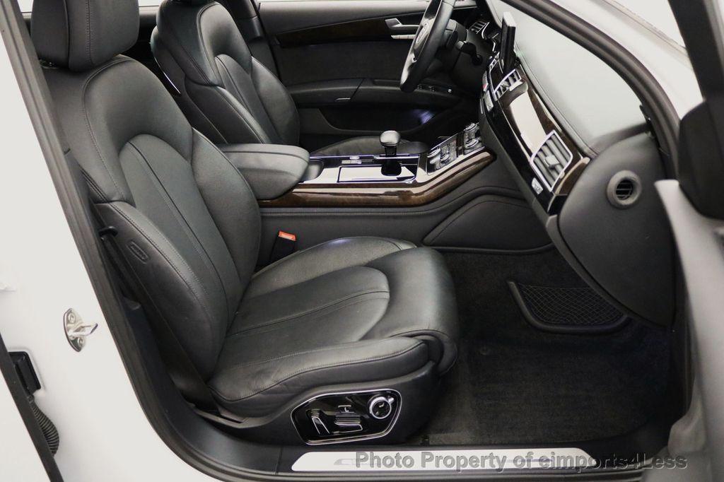 2015 Audi A8 L CERTIFIED A8L 4.0T V8 Quattro AWD Adaptive Cruise PANO NAV - 17365115 - 37
