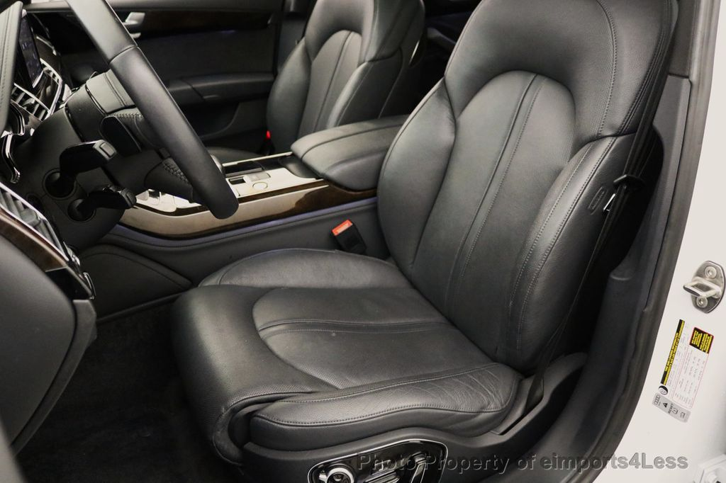 2015 Audi A8 L CERTIFIED A8L 4.0T V8 Quattro AWD Adaptive Cruise PANO NAV - 17365115 - 38