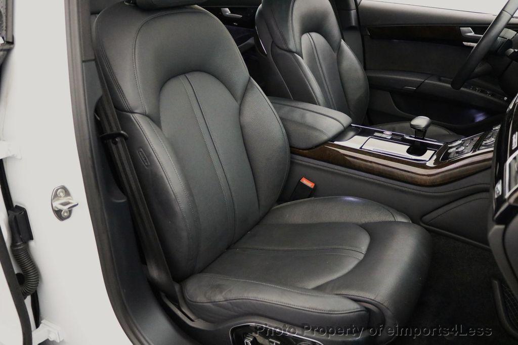 2015 Audi A8 L CERTIFIED A8L 4.0T V8 Quattro AWD Adaptive Cruise PANO NAV - 17365115 - 39