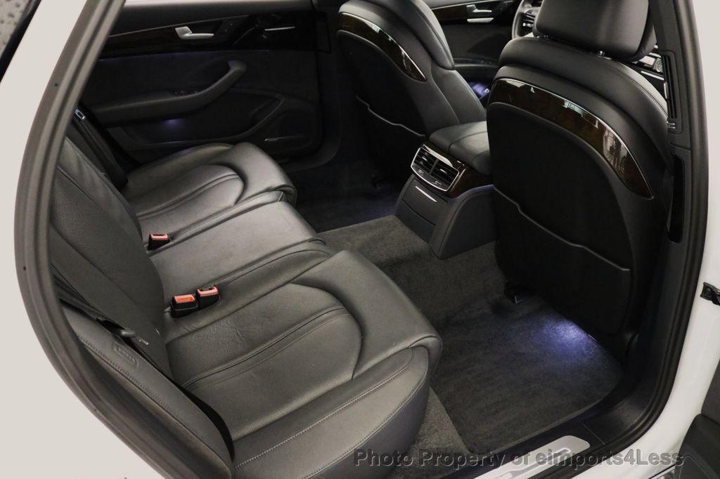 2015 Audi A8 L CERTIFIED A8L 4.0T V8 Quattro AWD Adaptive Cruise PANO NAV - 17365115 - 40
