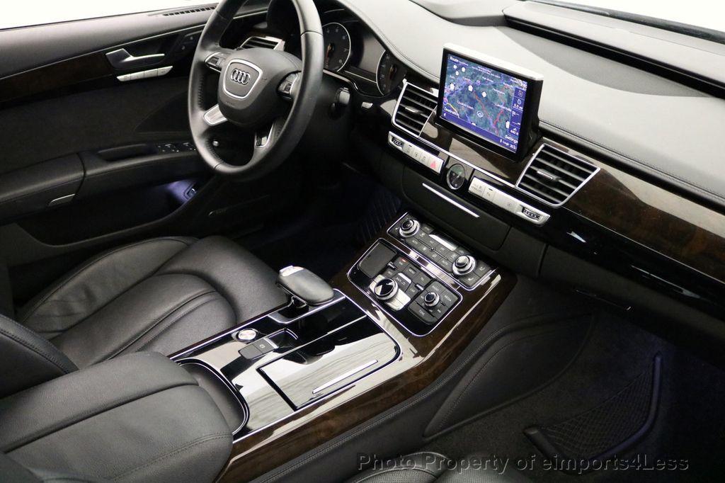 2015 Audi A8 L CERTIFIED A8L 4.0T V8 Quattro AWD Adaptive Cruise PANO NAV - 17365115 - 41