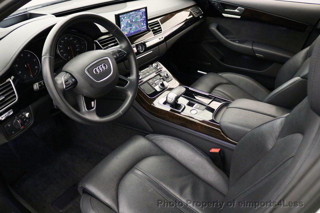 2015 Audi A8 L CERTIFIED A8L 4.0T V8 Quattro AWD Adaptive Cruise PANO NAV - 17365115 - 7
