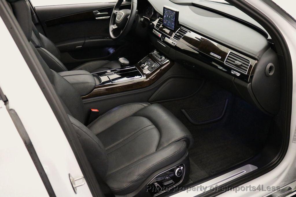 2015 Audi A8 L CERTIFIED A8L 4.0T V8 Quattro AWD Adaptive Cruise PANO NAV - 17365115 - 8