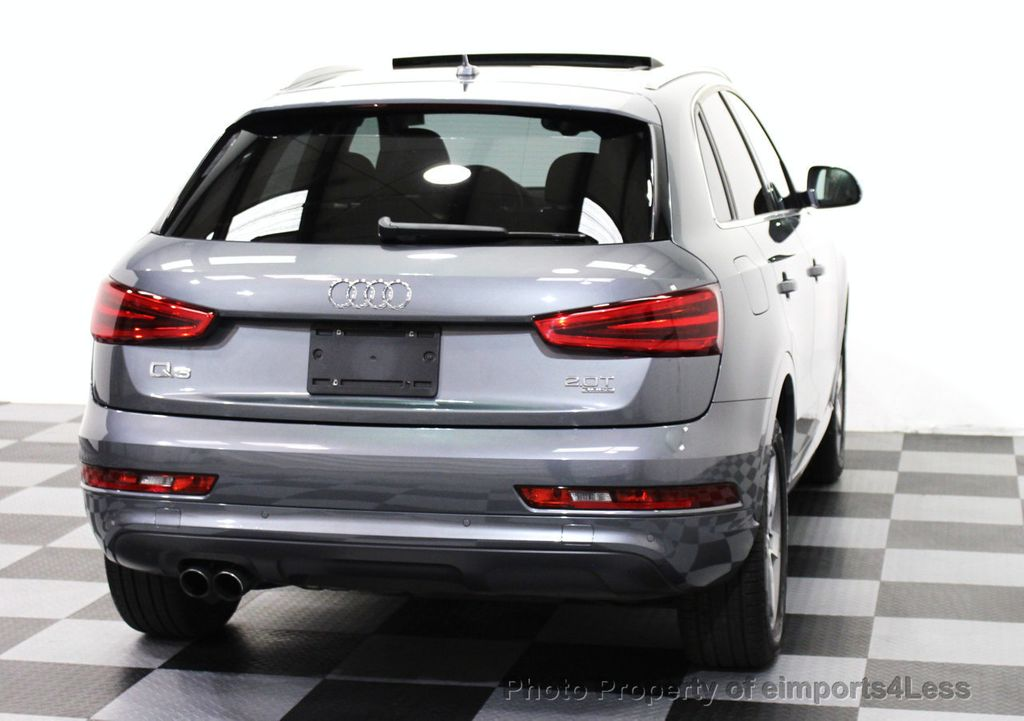 2015 used audi q3 certified q3 quattro prestige awd suv cam navigation at eimports4less. Black Bedroom Furniture Sets. Home Design Ideas
