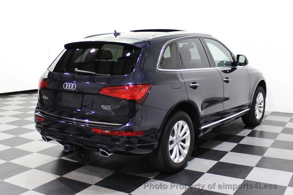 2015 Audi Q5 CERTIFIED Q5 2.0t Quattro Premium Plus AWD CAMERA BLIS NAVI - 18196762 - 18
