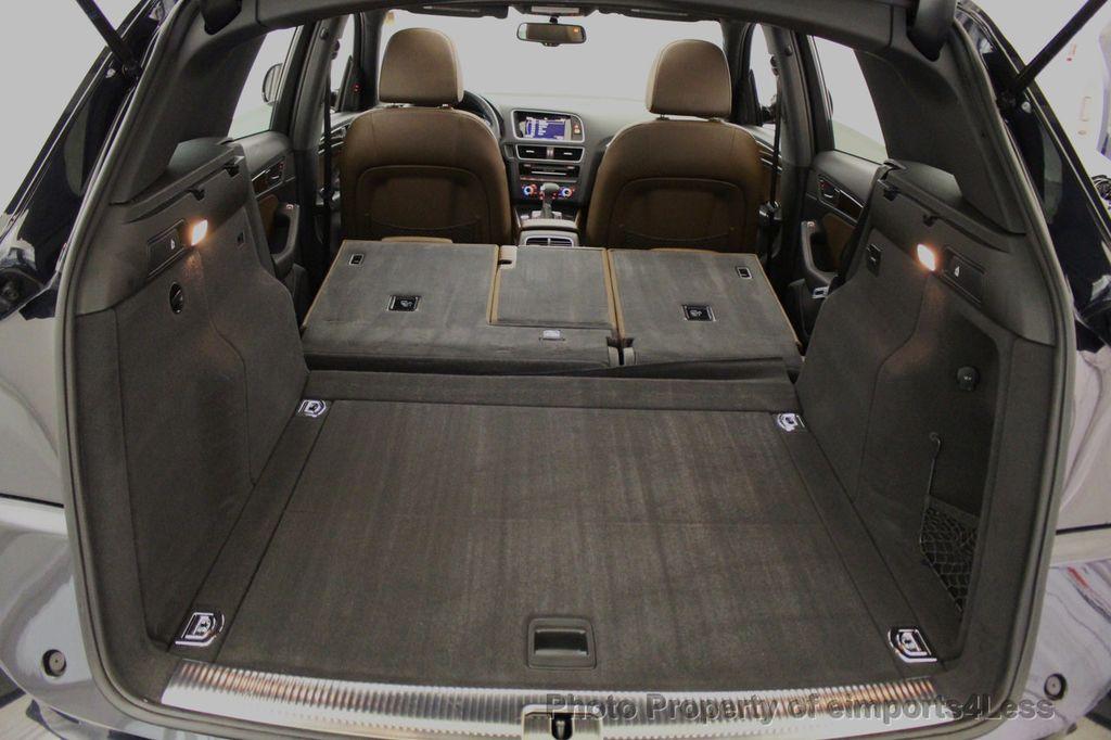 2015 Audi Q5 CERTIFIED Q5 2.0t Quattro Premium Plus AWD CAMERA BLIS NAVI - 18196762 - 23