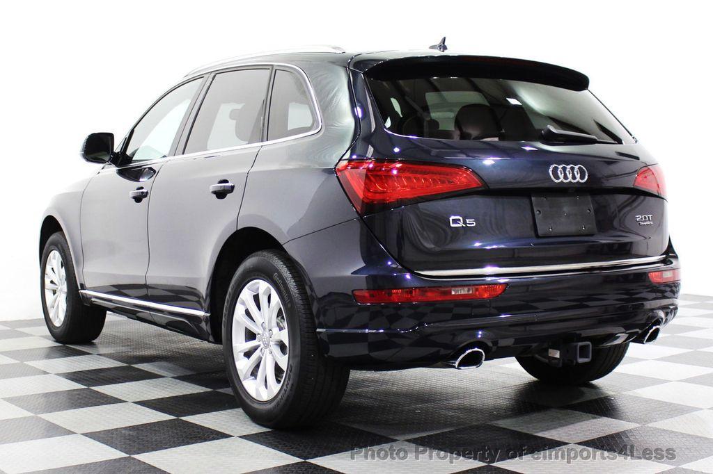 2015 Audi Q5 CERTIFIED Q5 2.0t Quattro Premium Plus AWD CAMERA BLIS NAVI - 18196762 - 2
