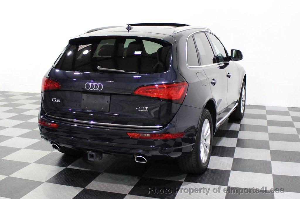 2015 Audi Q5 CERTIFIED Q5 2.0t Quattro Premium Plus AWD CAMERA BLIS NAVI - 18196762 - 33