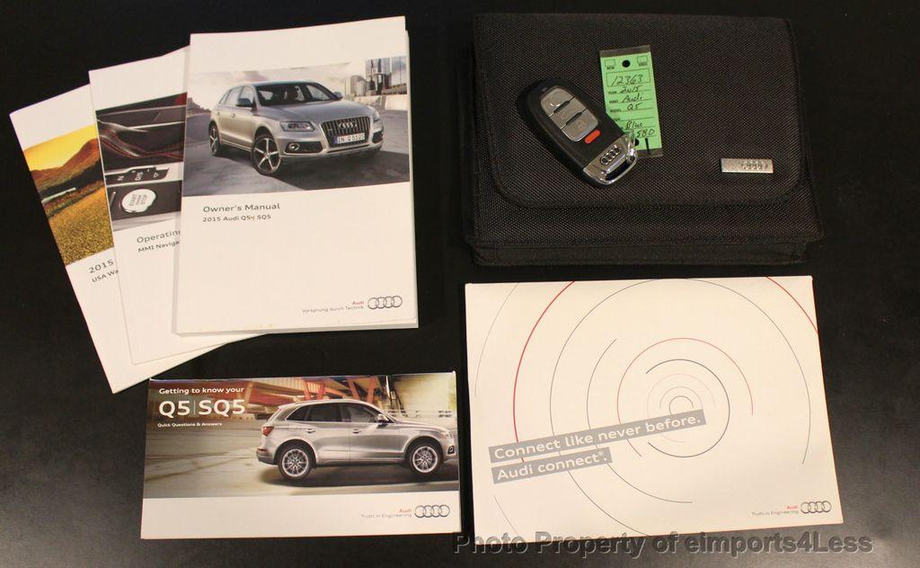 2015 Audi Q5 CERTIFIED Q5 2.0t Quattro Premium Plus AWD CAMERA BLIS NAVI - 18196762 - 41