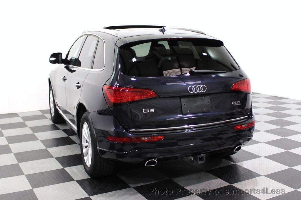 2015 Audi Q5 CERTIFIED Q5 2.0t Quattro Premium Plus AWD CAMERA BLIS NAVI - 18196762 - 47