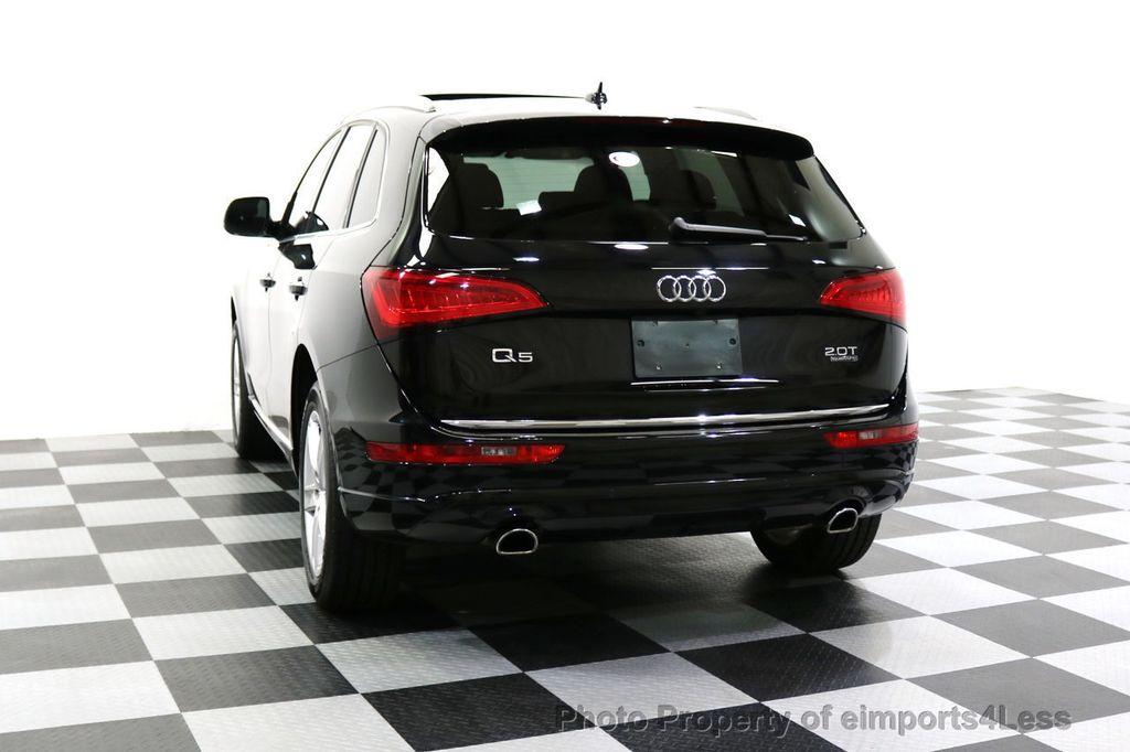 2015 Audi Q5 CERTIFIED Q5 2.0t Quattro Premium Plus AWD CAMERA NAVI - 17759842 - 16