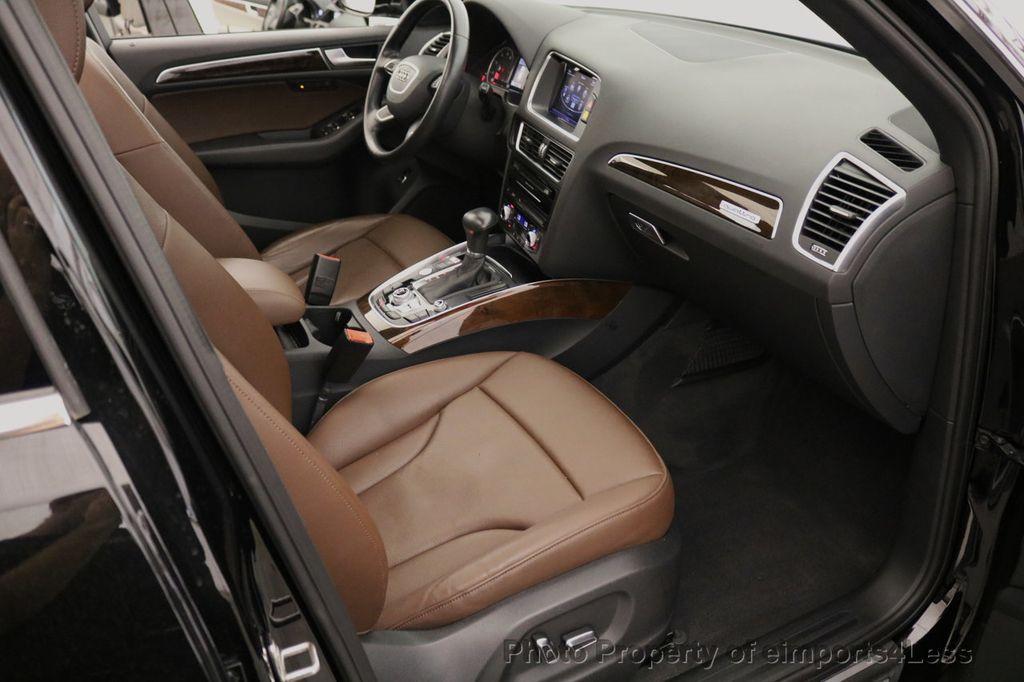 2015 Audi Q5 CERTIFIED Q5 2.0t Quattro Premium Plus AWD CAMERA NAVI - 17759842 - 39