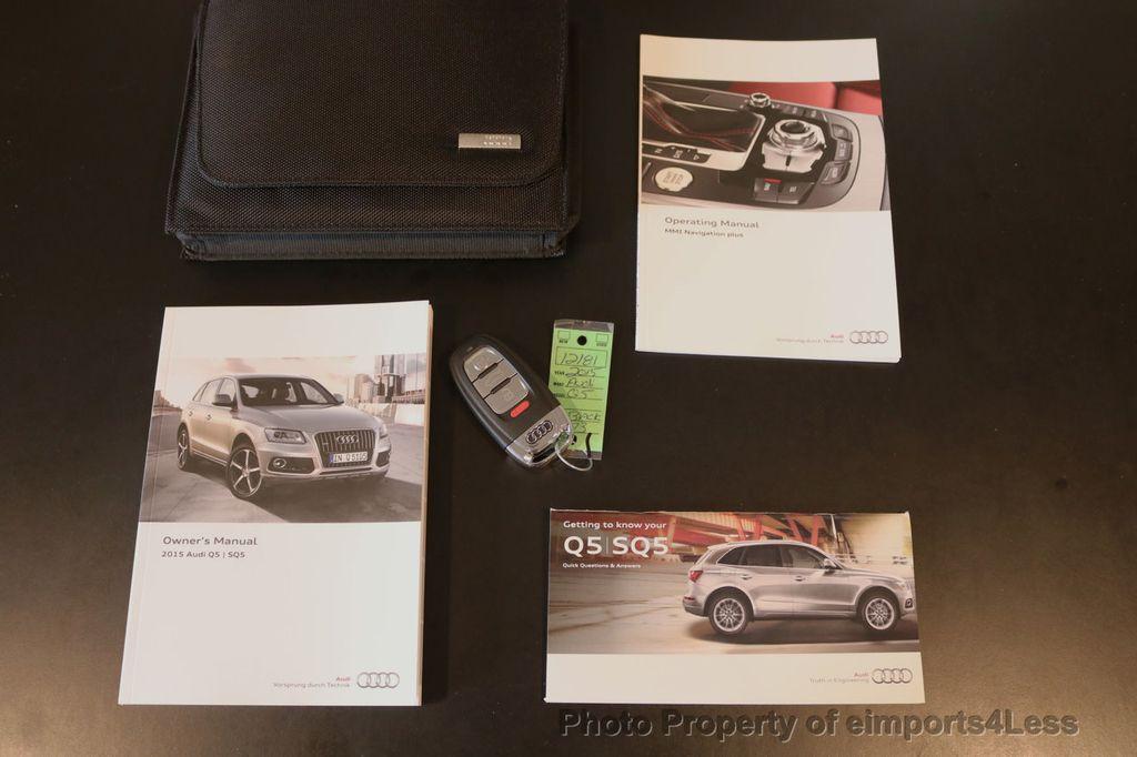 2015 Audi Q5 CERTIFIED Q5 2.0t Quattro Premium Plus AWD CAMERA NAVI - 17759842 - 40