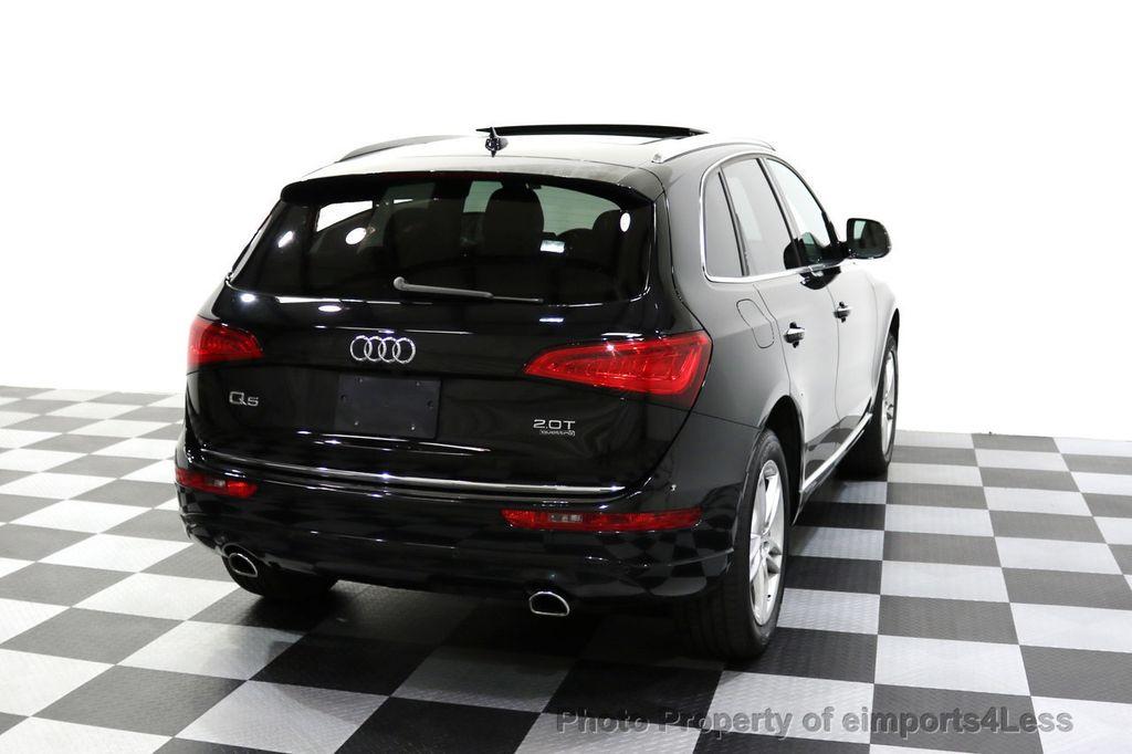 2015 Audi Q5 CERTIFIED Q5 2.0t Quattro Premium Plus AWD CAMERA NAVI - 17759842 - 47