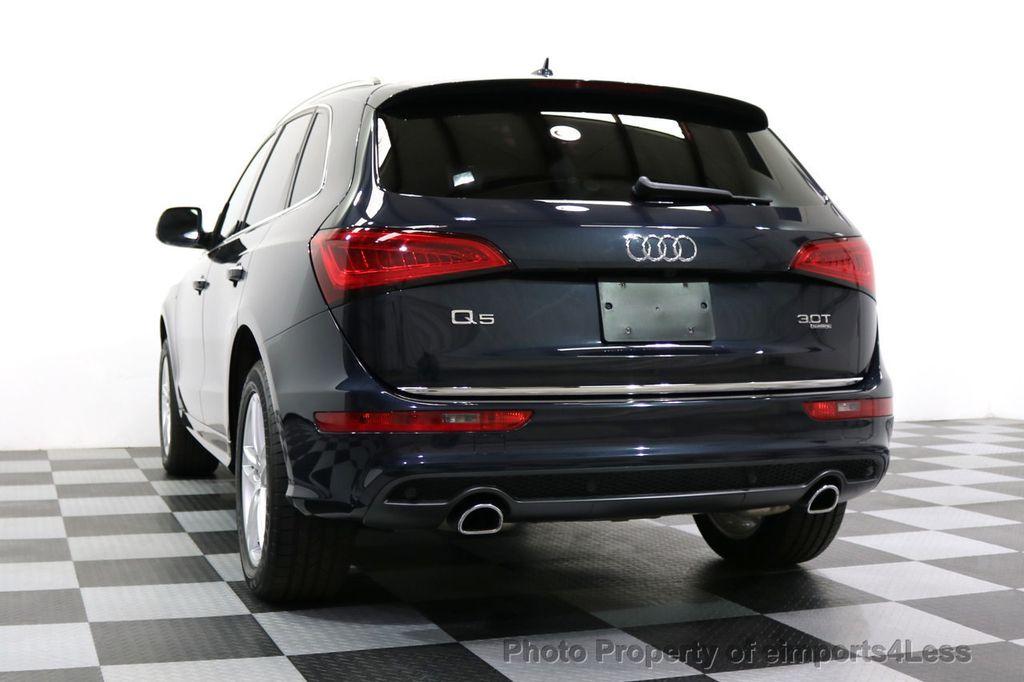 2015 Audi Q5 CERTIFIED Q5 3.0T Quattro Premium Plus AWD S-LINE CAMERA NAVI - 17679321 - 16