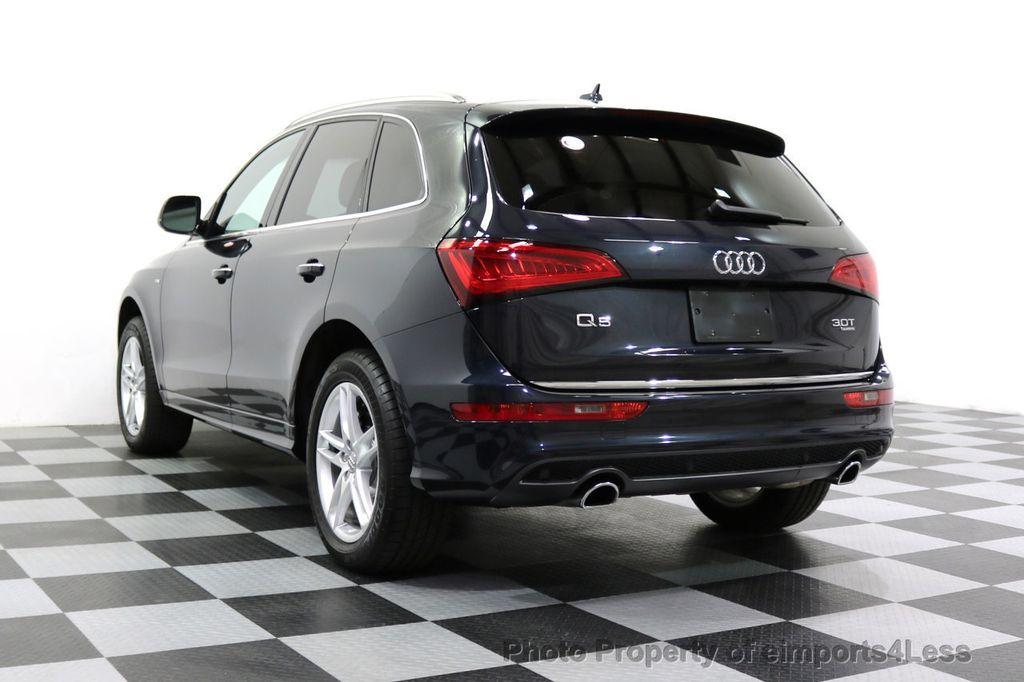 2015 Audi Q5 CERTIFIED Q5 3.0T Quattro Premium Plus AWD S-LINE CAMERA NAVI - 17679321 - 2