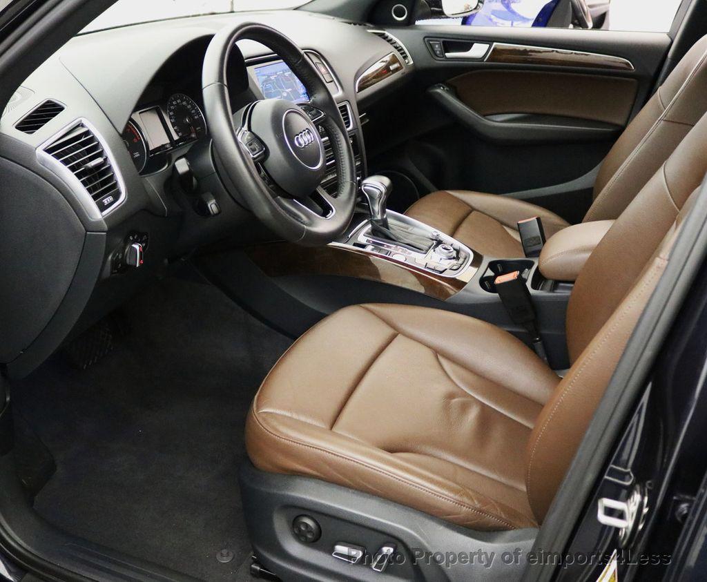 2015 Audi Q5 CERTIFIED Q5 3.0T Quattro Premium Plus AWD S-LINE CAMERA NAVI - 17679321 - 33