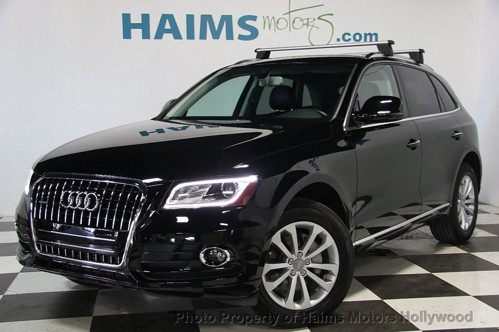 2015 used audi q5 quattro 4dr 2 0t premium at haims motors serving fort lauderdale hollywood. Black Bedroom Furniture Sets. Home Design Ideas