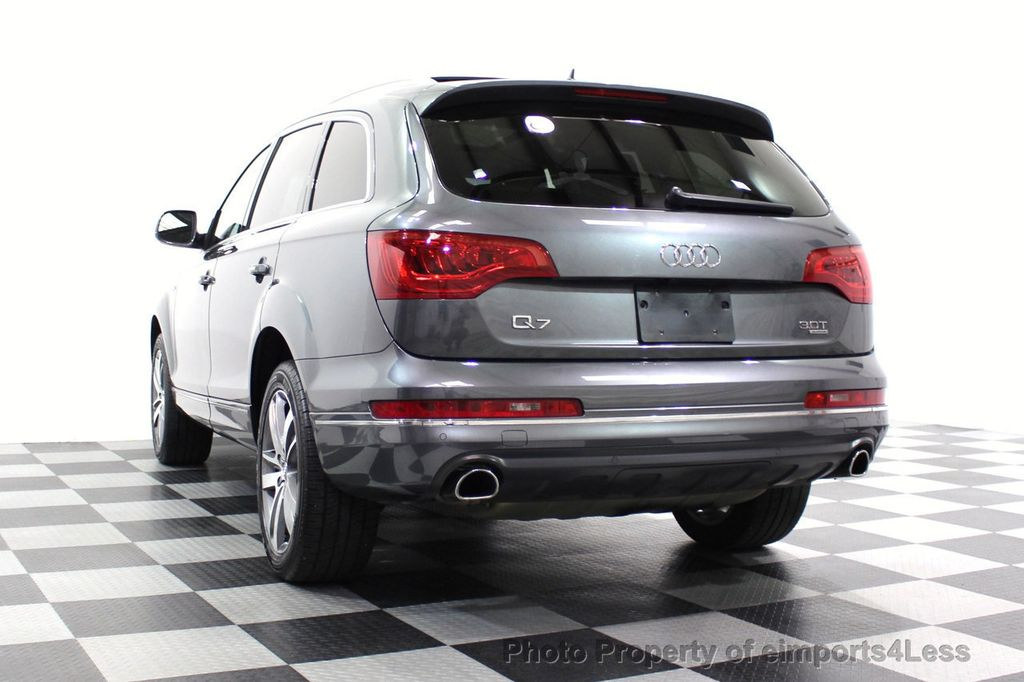 2015 Audi Q7 CERTIFIED Audi Q7 3.0T Quattro Premium Plus AWD 7-PASSENGER - 18257409 - 58