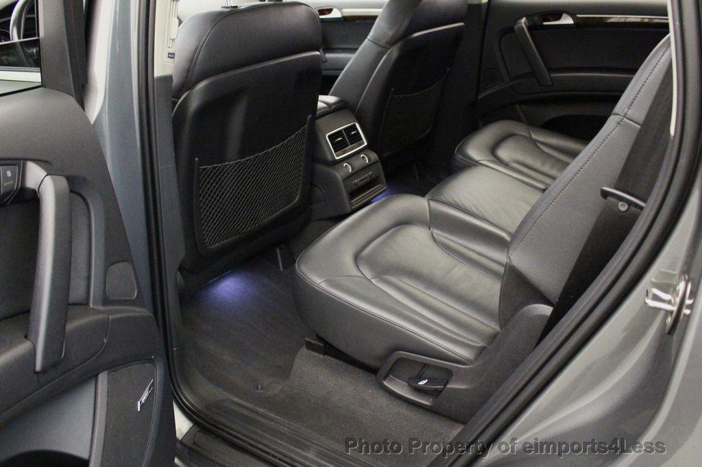 2015 Used Audi Q7 CERTIFIED Q7 3.0t Quattro Premium Plus 7-PASS NAVI ...