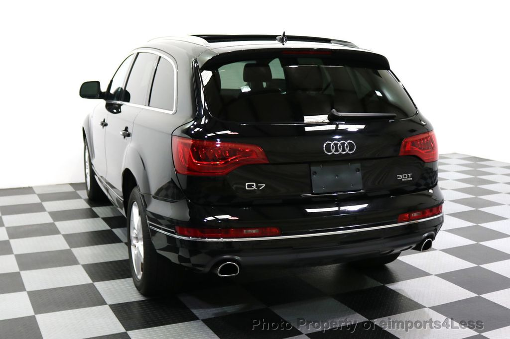2015 Audi Q7 CERTIFIED Q7 3.0t Quattro Premium Plus AWD 7 PASSENGER - 17981799 - 32
