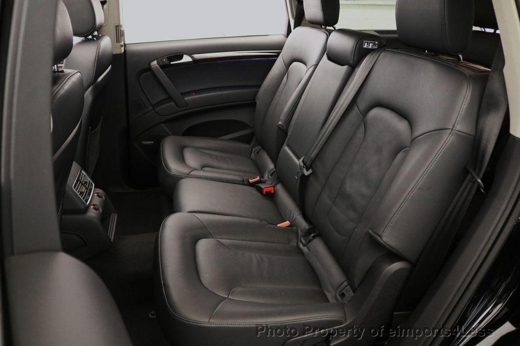 2015 Audi Q7 CERTIFIED Q7 3.0t Quattro Premium Plus AWD 7 PASSENGER - 17981799 - 38