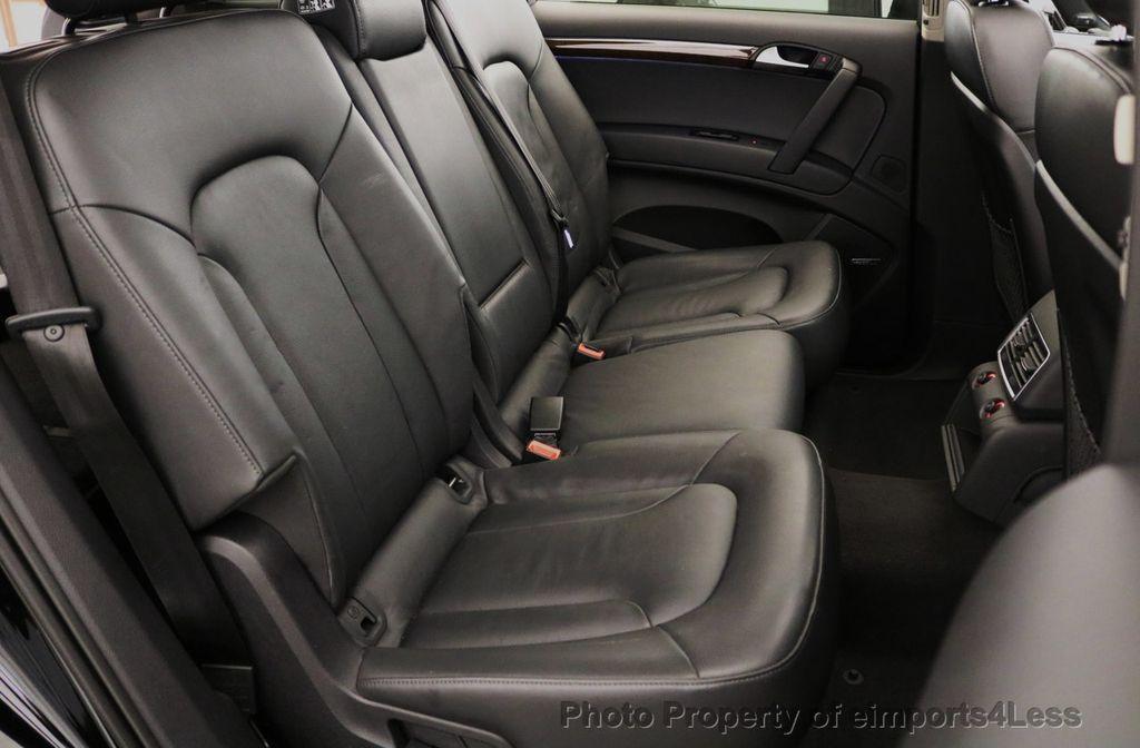 2015 Audi Q7 CERTIFIED Q7 3.0t Quattro Premium Plus AWD 7 PASSENGER - 17981799 - 39