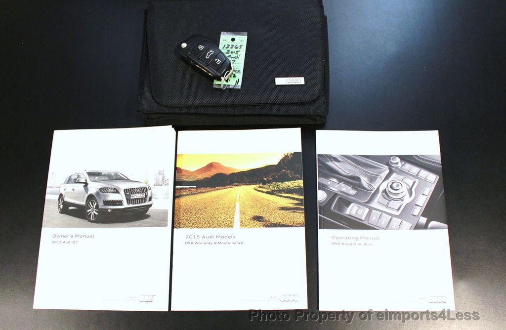 2015 Audi Q7 CERTIFIED Q7 3.0t Quattro Premium Plus AWD 7 PASSENGER - 17981799 - 44