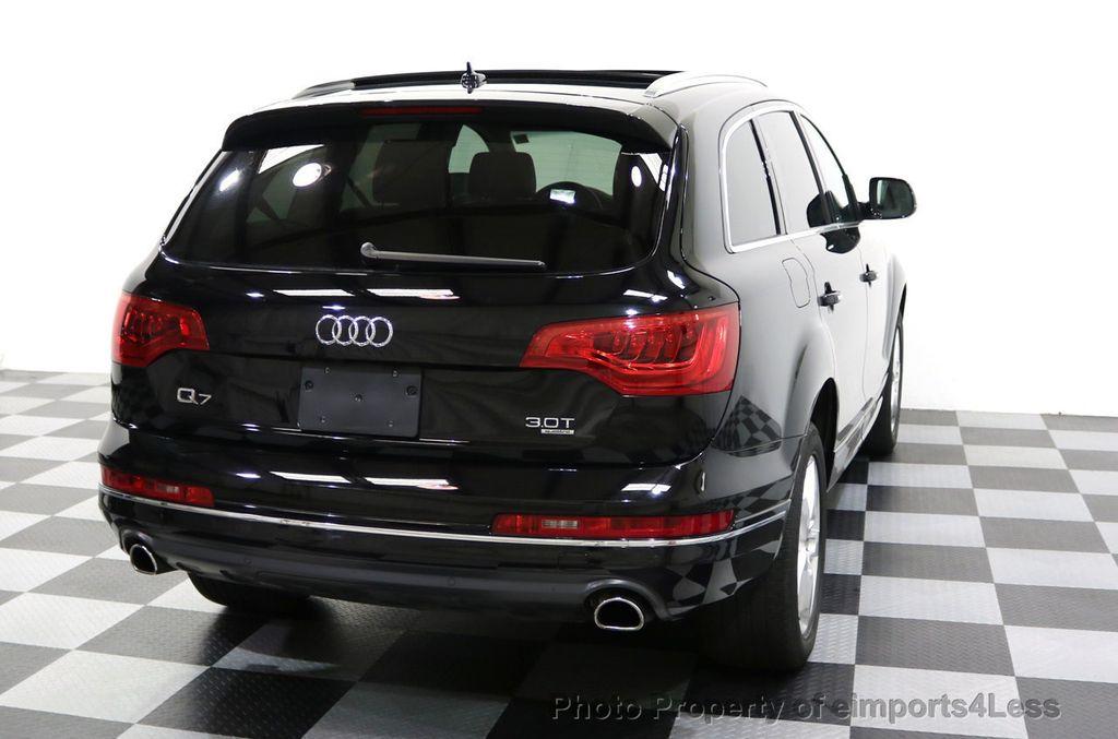 2015 Audi Q7 CERTIFIED Q7 3.0t Quattro Premium Plus AWD 7 PASSENGER - 17981799 - 51