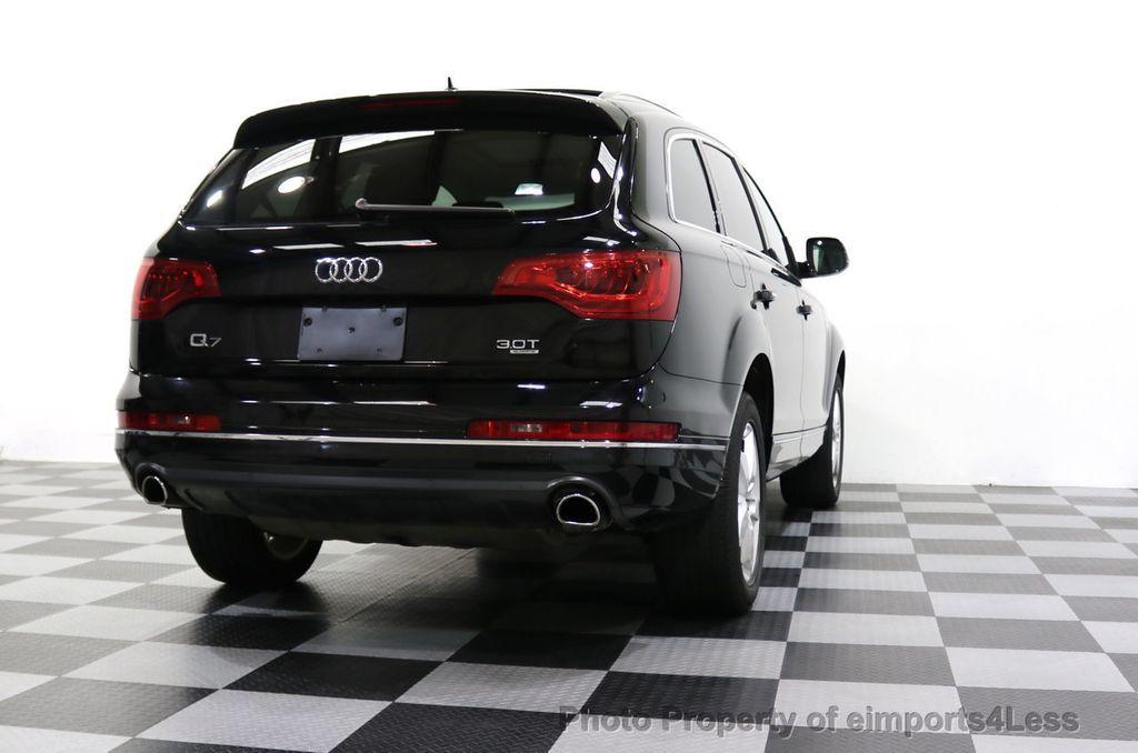 2015 Audi Q7 CERTIFIED Q7 3.0t Quattro Premium Plus AWD 7 PASSENGER - 17981799 - 58