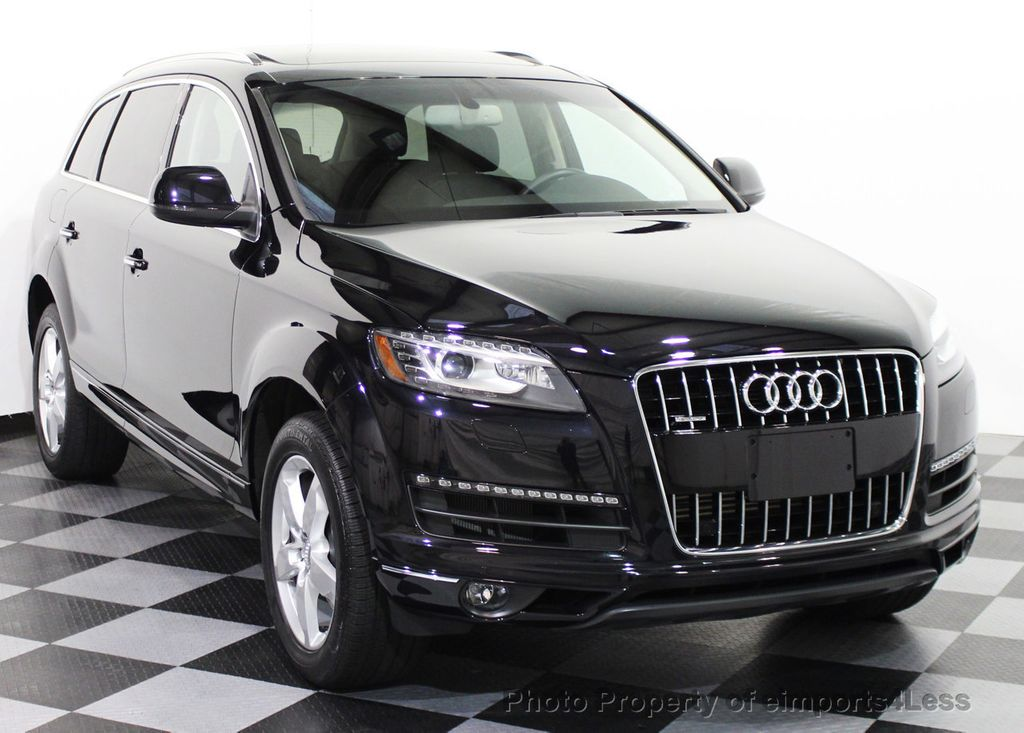 2015 used audi q7 certified q7 3 0t quattro premium plus awd suv navigation at eimports4less. Black Bedroom Furniture Sets. Home Design Ideas