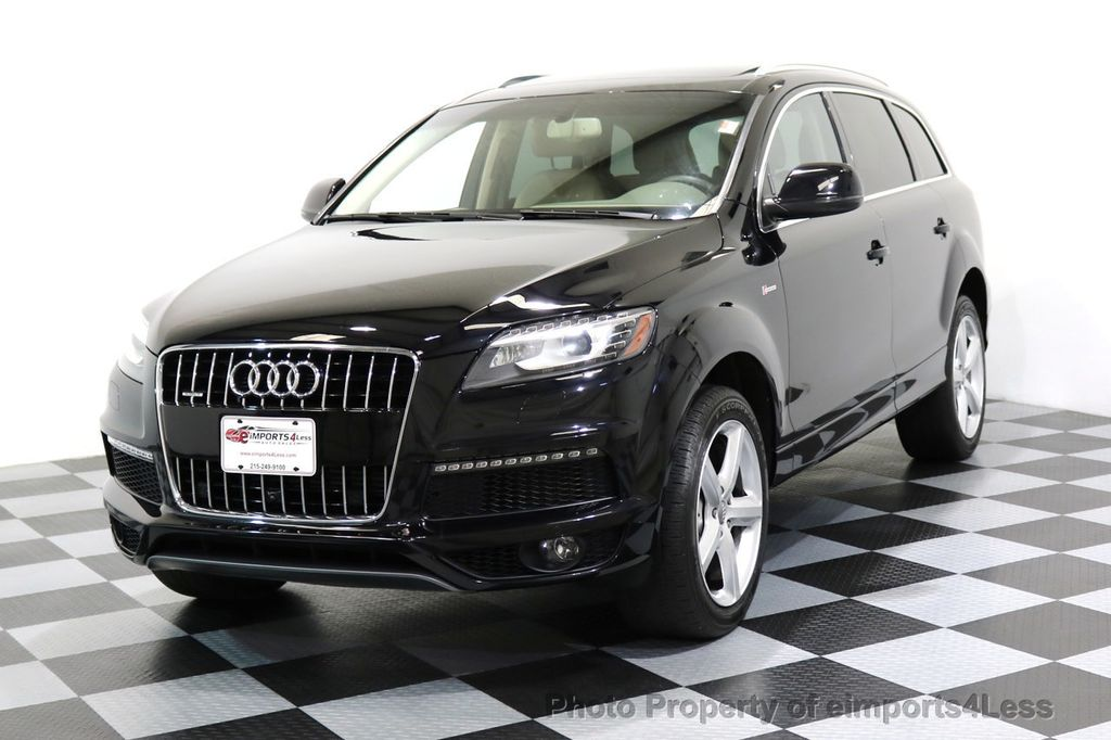2015 used audi q7 certified q7 quattro s line prestige awd at eimports4less serving. Black Bedroom Furniture Sets. Home Design Ideas