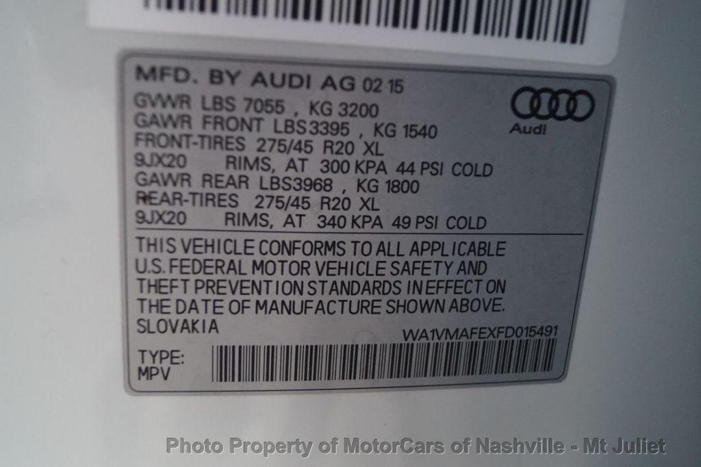 2015 Audi Q7 quattro 4dr 3.0L TDI Prestige - 18377542 - 36