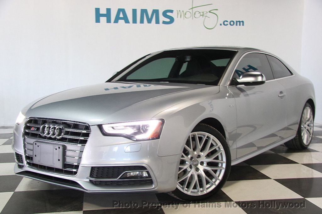 2015 used audi s5 2dr coupe automatic premium plus at. Black Bedroom Furniture Sets. Home Design Ideas