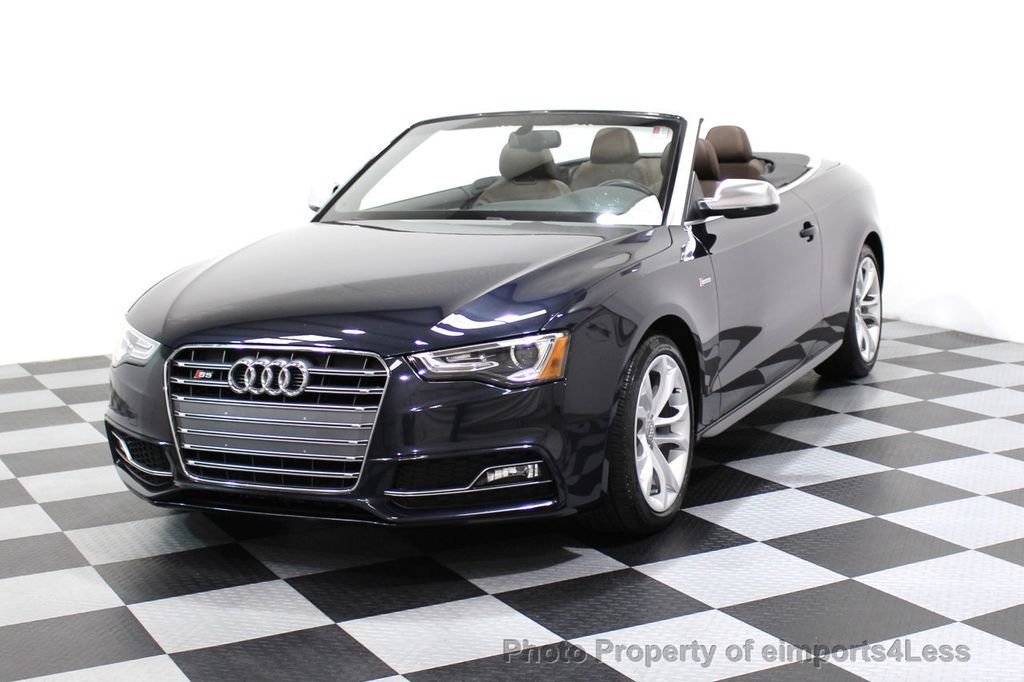 2015 Audi S5 Cabriolet CERTIFIED S5 3.0t Quattro AWD COMFORT TECH CAM NAVI - 17517063 - 0