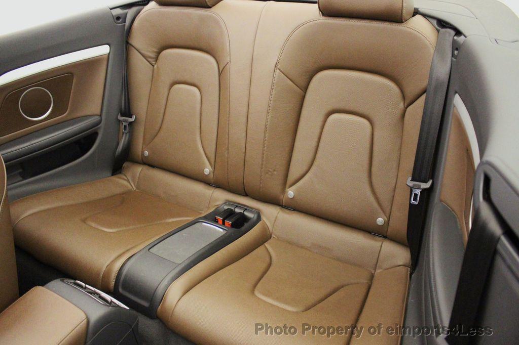 2015 Audi S5 Cabriolet CERTIFIED S5 3.0t Quattro AWD COMFORT TECH CAM NAVI - 17517063 - 9