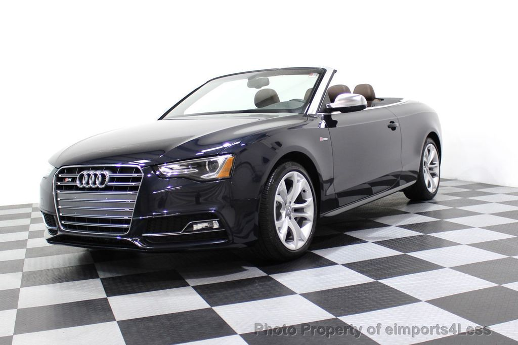 2015 Audi S5 Cabriolet CERTIFIED S5 3.0t Quattro AWD COMFORT TECH CAM NAVI - 17517063 - 13
