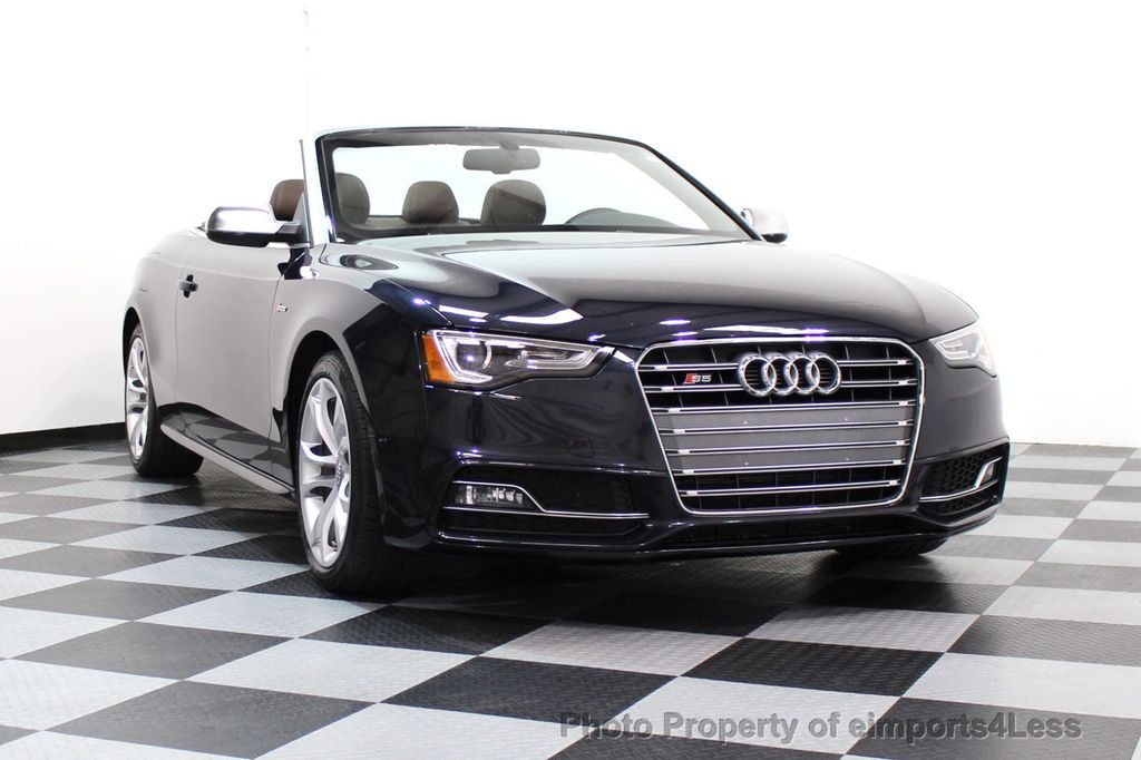 2015 Audi S5 Cabriolet CERTIFIED S5 3.0t Quattro AWD COMFORT TECH CAM NAVI - 17517063 - 14