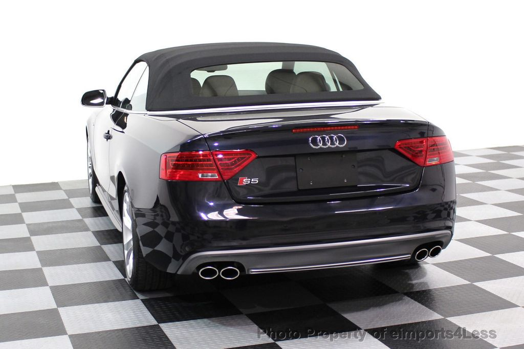 2015 Audi S5 Cabriolet CERTIFIED S5 3.0t Quattro AWD COMFORT TECH CAM NAVI - 17517063 - 15