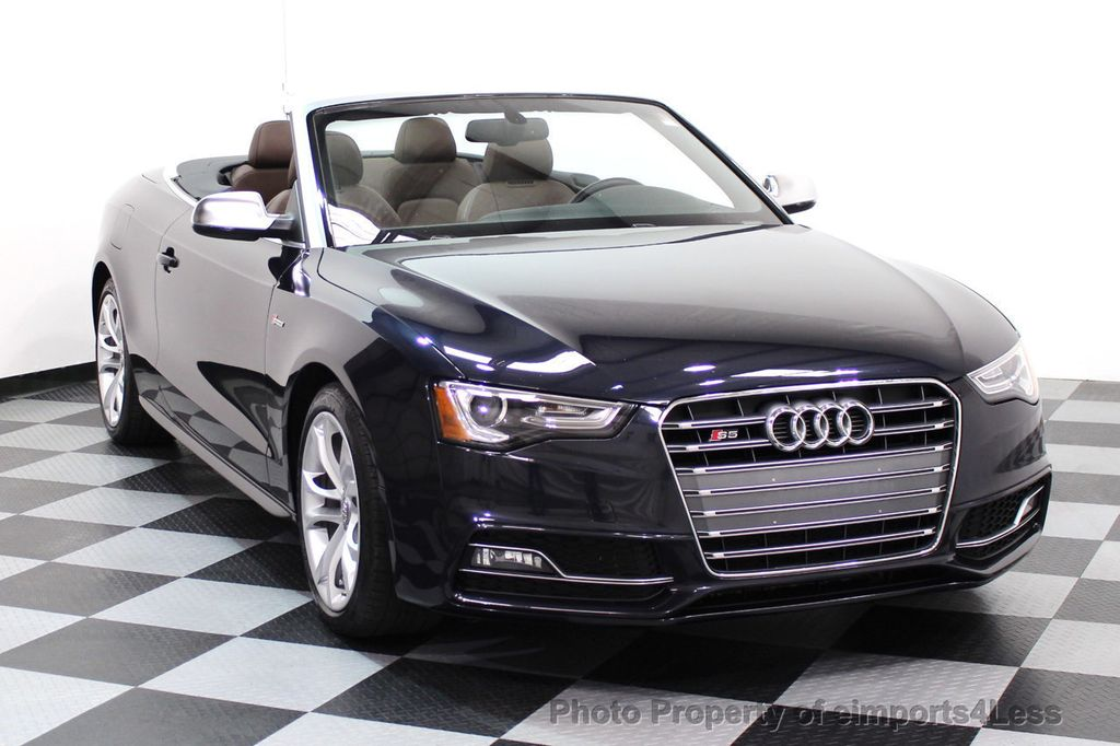 2015 Audi S5 Cabriolet CERTIFIED S5 3.0t Quattro AWD COMFORT TECH CAM NAVI - 17517063 - 1