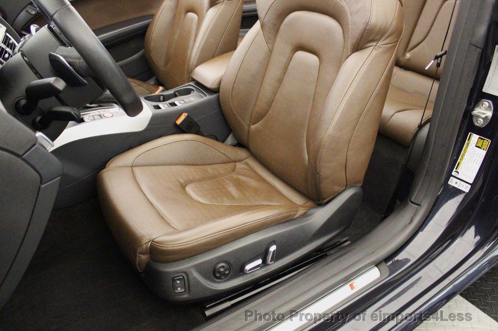 2015 Audi S5 Cabriolet CERTIFIED S5 3.0t Quattro AWD COMFORT TECH CAM NAVI - 17517063 - 21