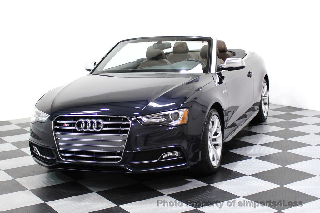 2015 Audi S5 Cabriolet CERTIFIED S5 3.0t Quattro AWD COMFORT TECH CAM NAVI - 17517063 - 26