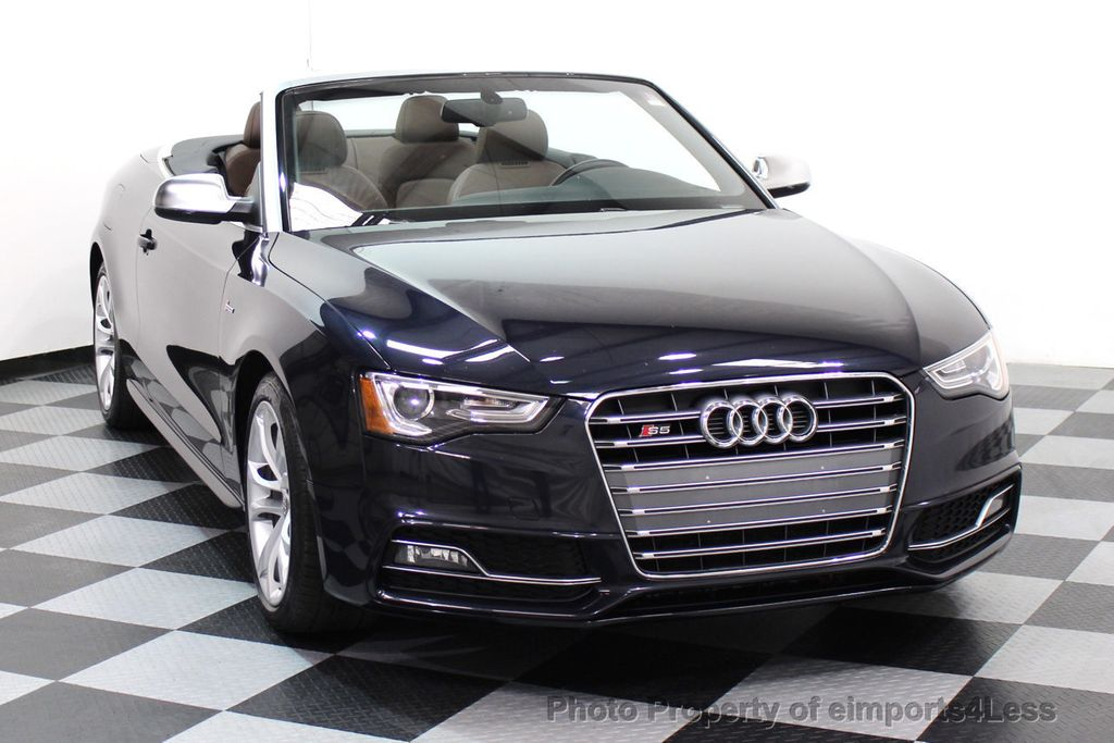 2015 Audi S5 Cabriolet CERTIFIED S5 3.0t Quattro AWD COMFORT TECH CAM NAVI - 17517063 - 27