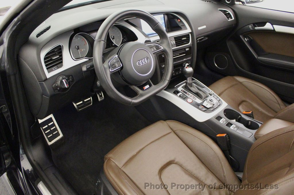 2015 Audi S5 Cabriolet CERTIFIED S5 3.0t Quattro AWD COMFORT TECH CAM NAVI - 17517063 - 31